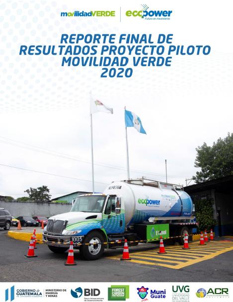 Resultados de Proyecto Piloto Movilidad Verde